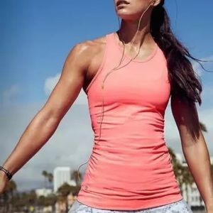 Athleta Finish Fast Racer Back Compression Tank To